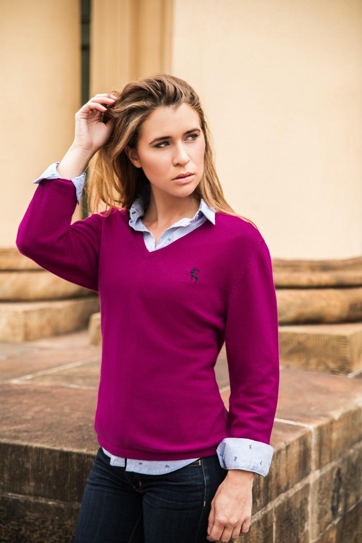 amy rose hancock cashmere fashion