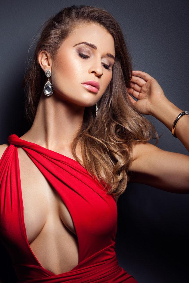 amy rose sck red dress